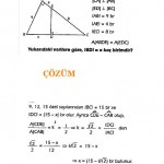 çözümlü üçgende alan soruları