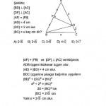 İkizkenar ve Eşkenar üçgen