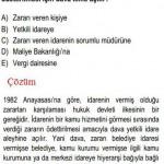 1982 Anayasası Devlet Dairesi İle ilgili Çözümlü Sorular KPSS