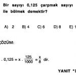 2009 sbs matematik rasyonel sayılar sorusu ve açıklamalı çözümü