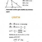 ALES üçgen sorusu ve çözümü