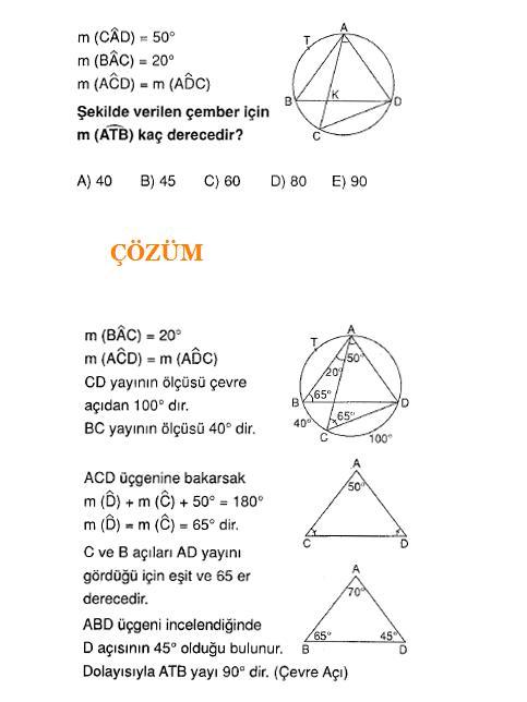 ALES sC4B1navlarC4B1na hazC4B1rlC4B1k C3A7ember soru ve C3A7C3B6zC3BCmleri