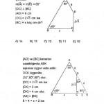 Eşkenar üçgen sorusu