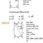Geometri yamuk soru ve çözümü