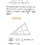 KPSS üçgende alan sorusu ve çözümü