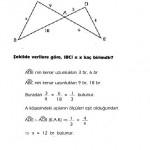 KPSS benzerlik çözümlü soruları