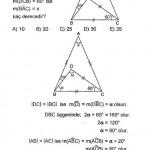 Kpss çözümlü üçgende açı sorusu