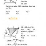 Paralelkenar geometri sorusu ve çözümü