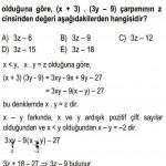 Pozitif Çift Tam Sayılarla İlgili Çözümlü Sorular KPSS