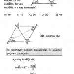 SBS üçgen sorusu çözümlü
