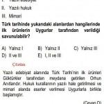 Türk Tarihiyle İlgili Çözümlü Sorular KPSS