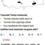 Türkiye Haritası İle İlgili Çözümlü Sorular KPSS