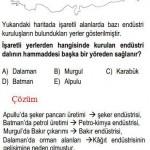 Türkiyenin Endüstri Kuruluşu İle ilgili Çözümlü Sorular KPSS