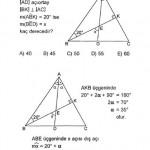 YGS üçgende açı sorusu