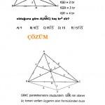 YGS sınavlarına hazırlık üçgende alan sorusu ve çözümü