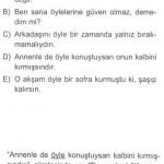 Zarf (belirteç) ile ilgili çözümlü sorular