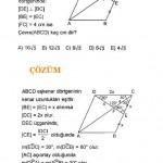 eşkenar dörtgen kpss lys ygs sınav sorusu ve çözümleri