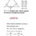 geometri özel üçgen sorusu ve çözümü