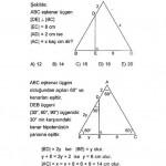 ikizkenar eşkenar üçgen sınav soruları