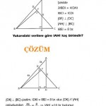 kpss özel üçgen soru ve çözümleri