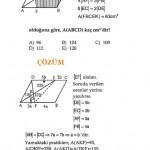 okul sınavı paralelkenar sorusu ve çözümleri
