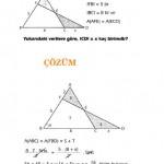okul sınavlarına hazırlık üçgende alan sorusu ve çözümü