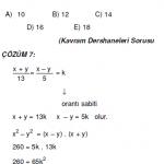 oran orantı ile ilgili çözümlü sorular kpss ygs