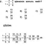 rasyonel sayılarla ilgili çözümlü sorular 2010 ygs 2011 sbs