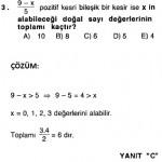 rasyonel sayılarla ilgili çözümlü sorular kpss ales