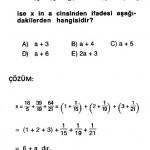 rasyonel sayılarla ilgili cevap anahtarlı sorular sbs ygs dgs