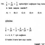 sbs matematik rasyonel sayılarla ilgili çıkmış çözümlü sorular