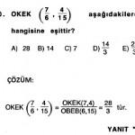 ygs matematik rasyonel sayılarla ilgili çıkmış çözümlü sorular