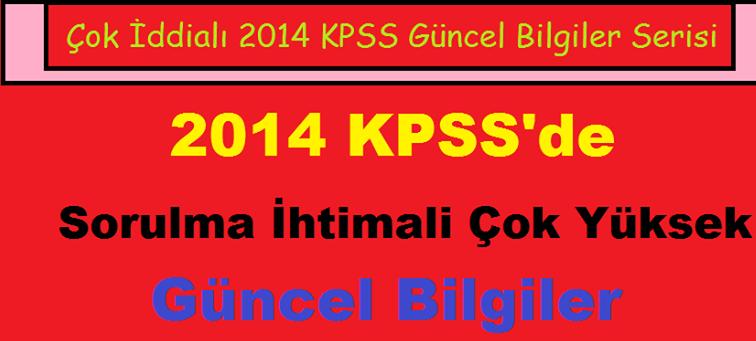 2014 güncel bilgiler